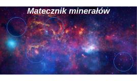 Matecznik minerałów