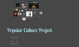 Popular Culture Project