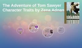 tom sawyer character traits