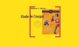 Etude de l'incipit de Candide