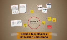 1. Gestión de la innovación.