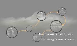 American civil war part1:struggle over slavery