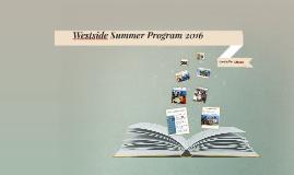 Westside Summer Program