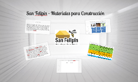 Copy of San Felipin - Materiales para Construcción