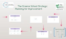 The Greene School Strategic Planning