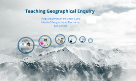 OUDES Geographical Enquiry Prezi