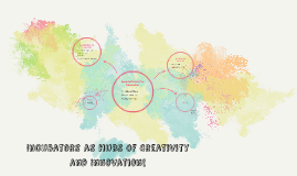 Incubators as Hubs of Creativity and Innovation