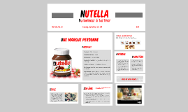 Nutella, une marque personne