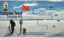 Estación Total Trimble M3