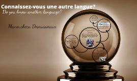 Do You Know Another Language?