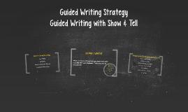 Mini-Lesson: Strategy Procedure