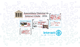 Assembleia Distrital de Interact Clubs - 2016