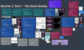 Quarter 2, Part I - The Great Gatsby