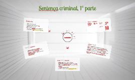 Sentença criminal, 1