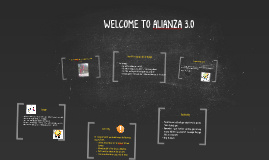 Copy of WELCOME TO ALIANZA 3.0