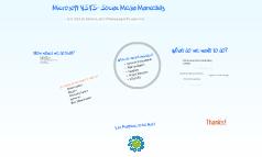 Microsoft VSTS- Social Media Marketing