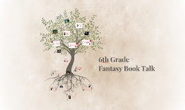 6th Grade Fantasy Book Talk
