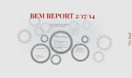 BEM REPORT