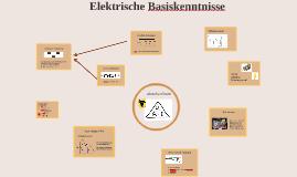 Elektrische Basiskenntnisse