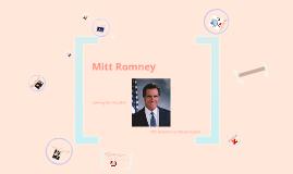 Civics Semester Long Project: Mitt Romney