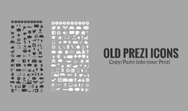 Copy of Prezi Old Icons