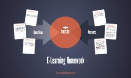 E-Learning Homework