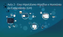 Aula 2 - Eixo Hipotálamo-Hipófise e Hormônio do Crescimento