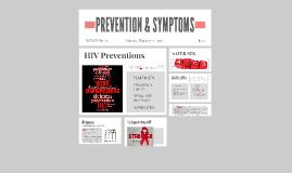 Copy of SYMPTOMS & PREVENTION