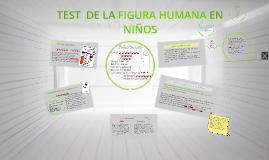 Copy of Test de la figura humana en niños