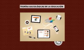 TEORÁS SOCIOLÓGICAS