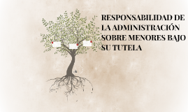 RESPONSABILIDAD DE LA ADMINISTRACIÓN SOBRE MENORES BAJO SU T