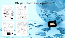 AP Human Geography: Development (Ch. 9)