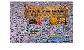 Structuur en textuur