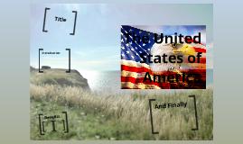 United States of America Panel Presentation