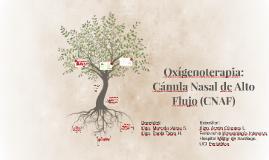 Oxígenoterapia: