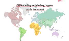 Videndeling skoleledergruppen Varde Kommune