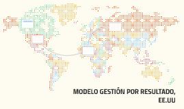 MODELO GESTIÓN POR RESULTADO