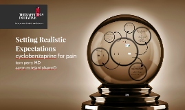 Copy of Setting Realistic Expectations for Neuropathic Pain Meds Nanaimo 2015