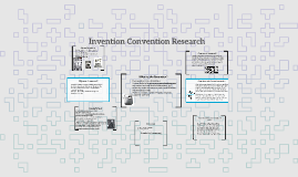 Invention Convention Research