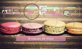 Copy of 8 classes de mots