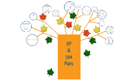 Copy of 504 and IEP Plans