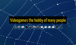 Videogames, the game of many people