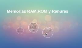 Memorias RAM,ROM y Ranuras