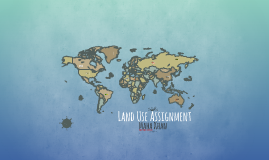 Land Use Assignment