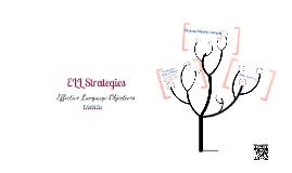 ELL Language Objectives