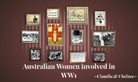 Australian Women involved in WW1