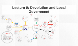 Lecture 9: Devolution and Local Government
