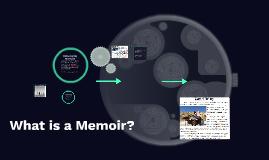 Copy of What is a Memoir?