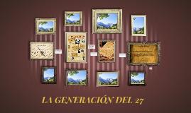 Copy of LA GENERACIÓN DEL 27