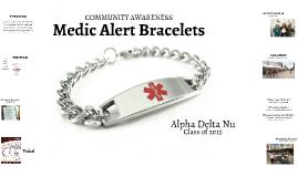 Medic Alert Bracelets